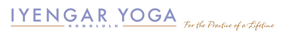 Iyengar Yoga Honolulu
